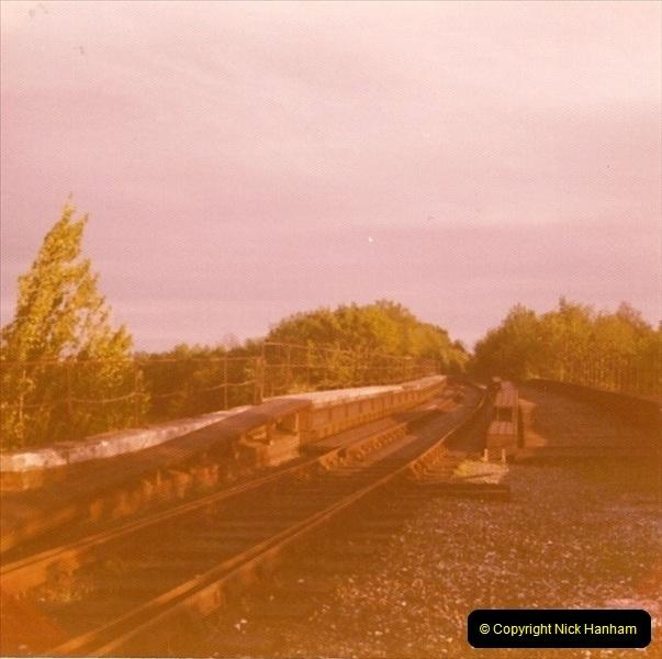 1977 Wimborne & Broadstone, Dorset.  (1)086