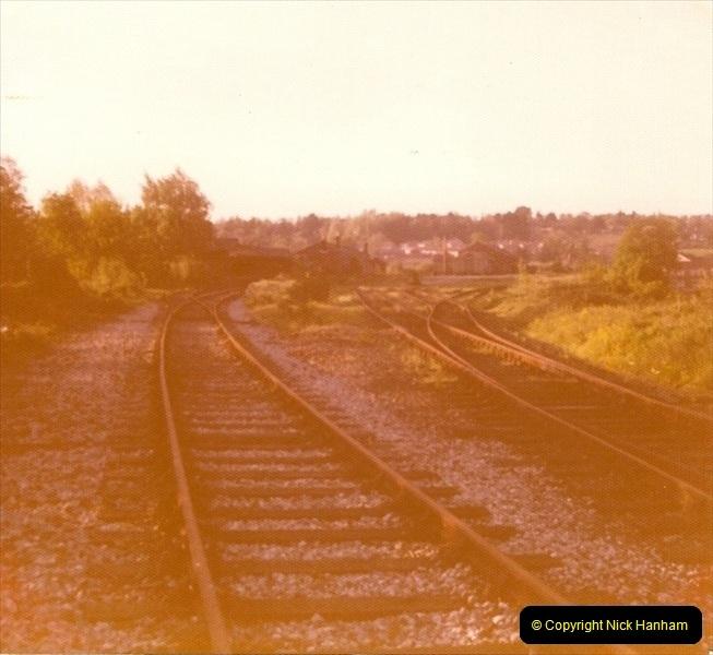1977 Wimborne & Broadstone, Dorset.  (2)087