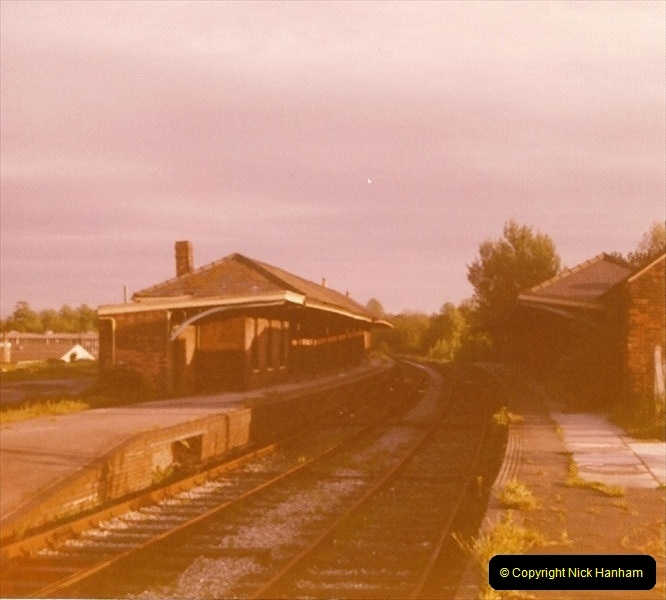 1977 Wimborne & Broadstone, Dorset.  (3)088