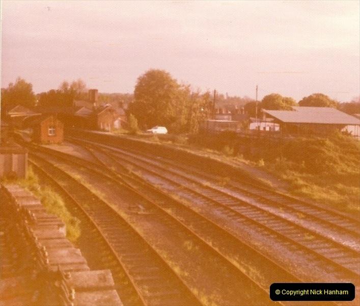 1977 Wimborne & Broadstone, Dorset.  (5)090