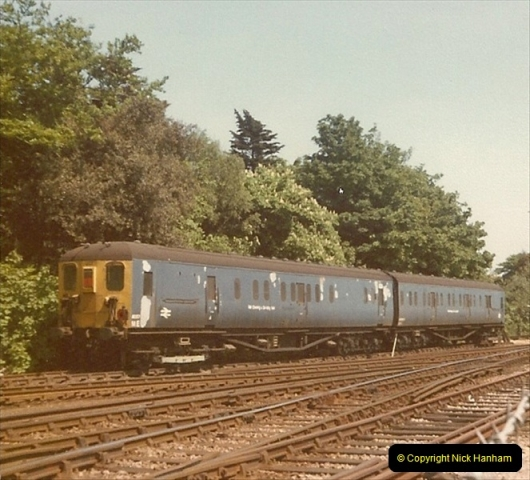 1978 Summer. Bournemouth Depot, Bournemouth, Dorset.  (1)104