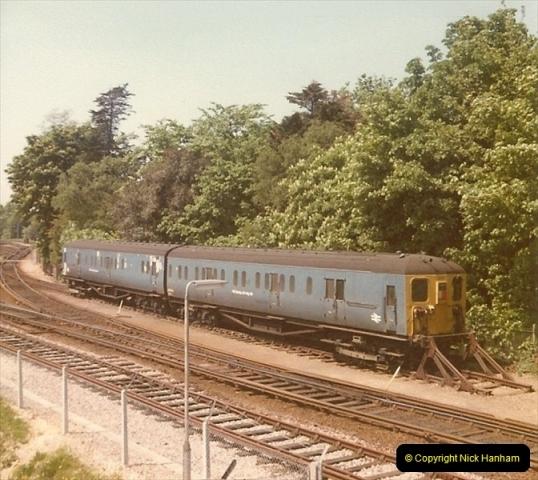 1978 Summer. Bournemouth Depot, Bournemouth, Dorset.  (2)105