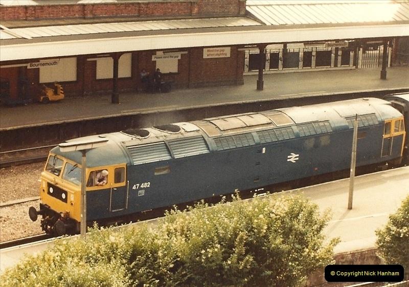 1981 May. Bournemouth, Dorset.  (5)128