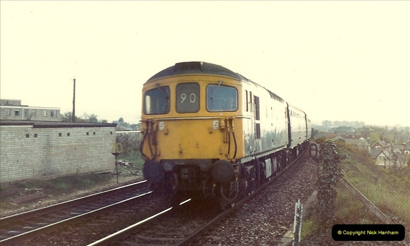 1981 May. Parkstone, Poole, Dorset.  (1)129