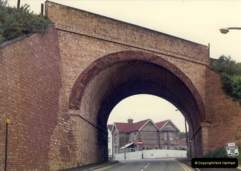 1981 May. Parkstone, Poole, Dorset.  (2)130