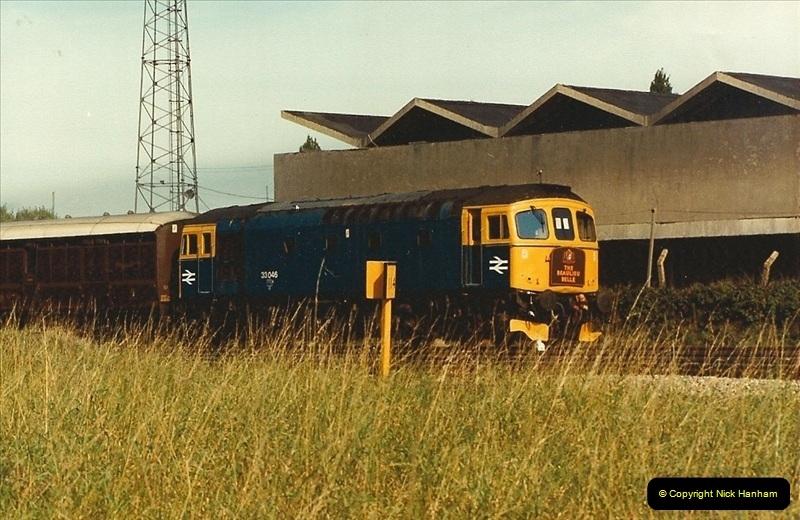 1984-10-11 VSOE Stock @ Poole, Dorset.  (2)182