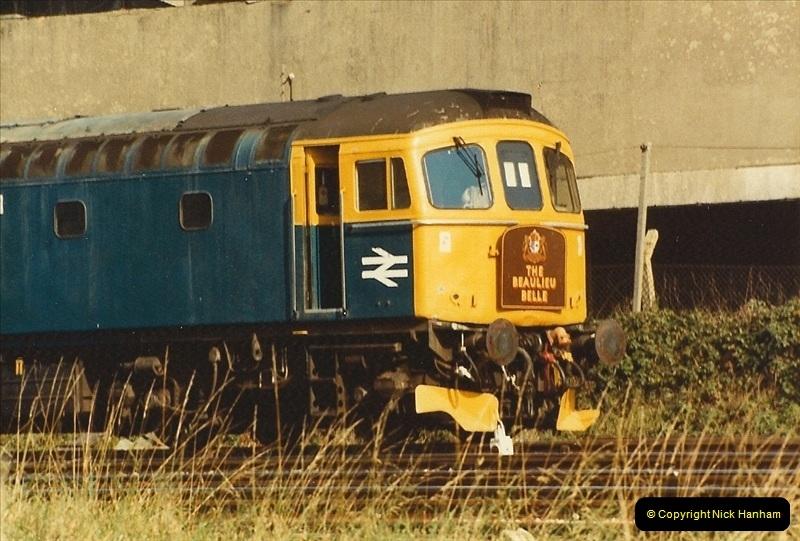 1984-10-11 VSOE Stock @ Poole, Dorset.  (3)183