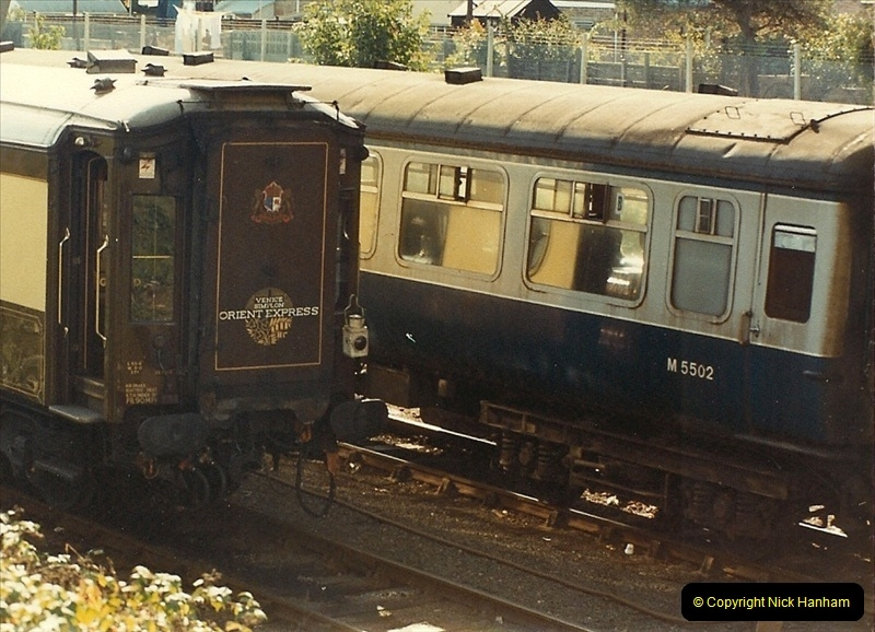 1984-10-11 VSOE Stock @ Poole, Dorset.  (5)185
