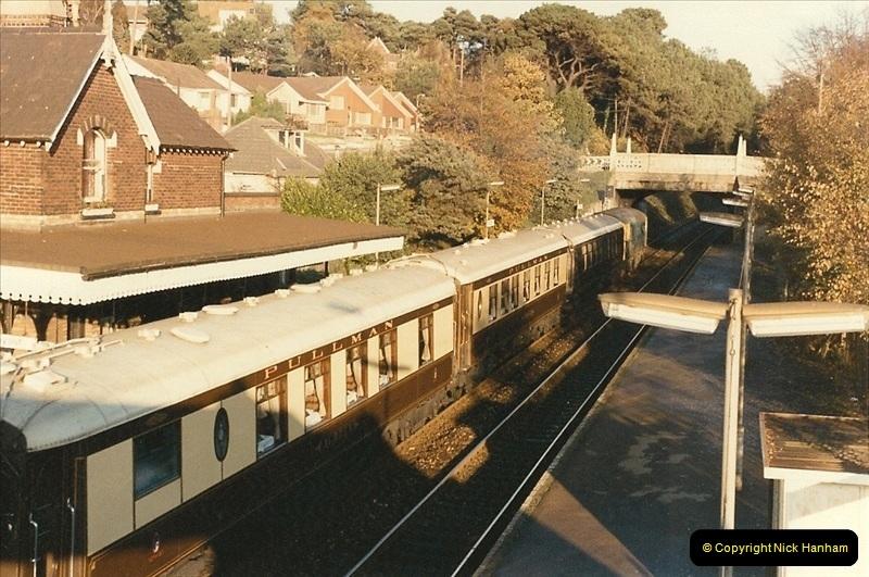 1984-11-10 VSOE Stock @ Parkstone, Poole, Dorset.  (2)189