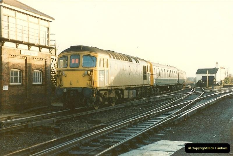 1985-12-07 Branksome, Poole,  Dorset.  (17)268