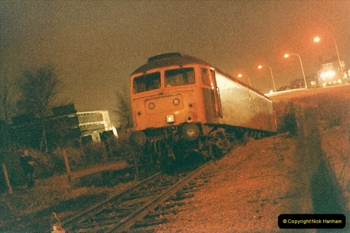1985-12-11 47246 runs away from Bournemouth Depot. (1)300