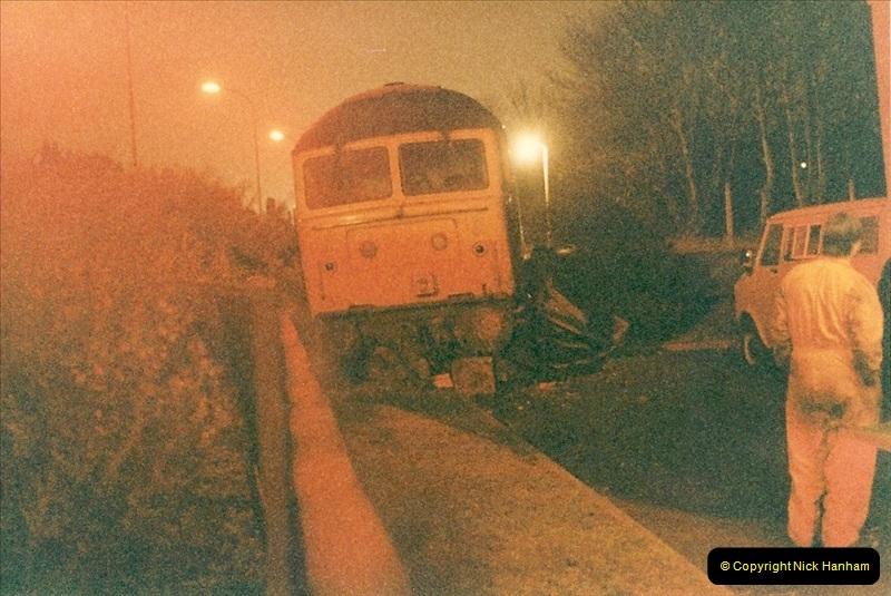 1985-12-11 47246 runs away from Bournemouth Depot. (3)302
