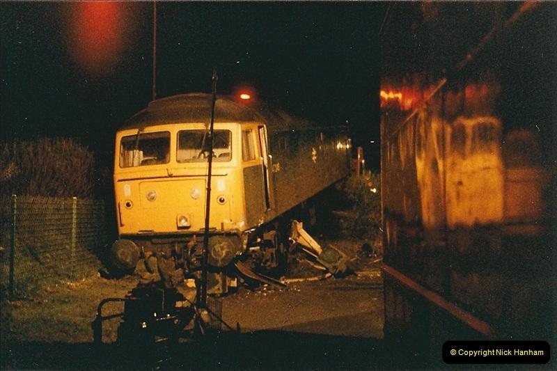 1985-12-11 47246 runs away from Bournemouth Depot. (7)306