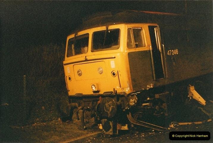 1985-12-11 47246 runs away from Bournemouth Depot. (9)308