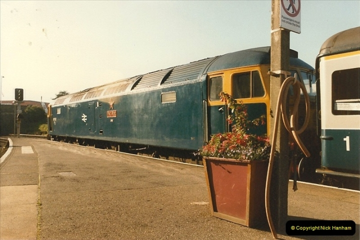 1985 August. Bournemouth, Dorset.  (1)331