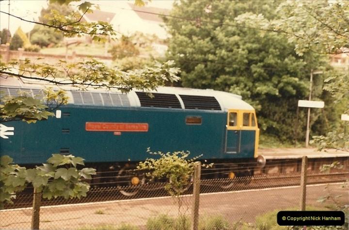 1985 May. Parkstone, Poole, Dorset.  (3)335