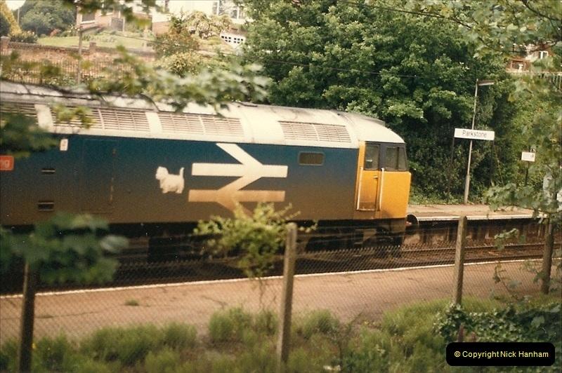 1985 May. Parkstone, Poole, Dorset.  (4)336
