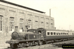 1955 to 1959 British Railways in Black & White. Local Bournemouth & Poole. (12)012