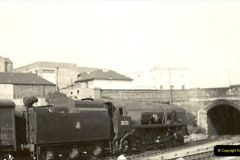 1955 to 1959 British Railways in Black & White. Local Bournemouth & Poole. (13)013
