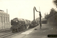 1955 to 1959 British Railways in Black & White. Local Bournemouth & Poole. (15)015
