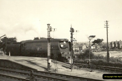 1955 to 1959 British Railways in Black & White. Local Bournemouth & Poole. (18)018