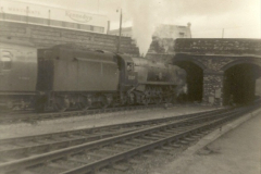 1955 to 1959 British Railways in Black & White. Local Bournemouth & Poole. (22)022
