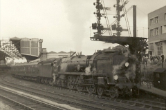 1955 to 1959 British Railways in Black & White. Local Bournemouth & Poole. (23)023