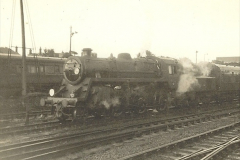 1955 to 1959 British Railways in Black & White. Local Bournemouth & Poole. (25)025