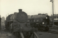 1955 to 1959 British Railways in Black & White. Local Bournemouth & Poole. (28)028
