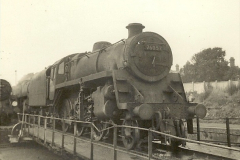 1955 to 1959 British Railways in Black & White. Local Bournemouth & Poole. (33)033