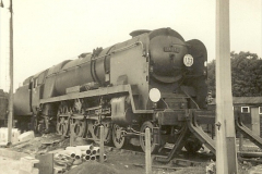 1955 to 1959 British Railways in Black & White. Local Bournemouth & Poole. (35)035