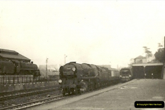 1955 to 1959 British Railways in Black & White. Local Bournemouth & Poole. (4)004