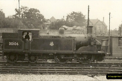 1955 to 1959 British Railways in Black & White. Local Bournemouth & Poole. (7)007