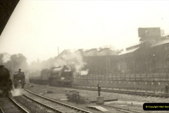 1955 to 1959 British Railways in Black & White. Local Bournemouth & Poole. (9)009