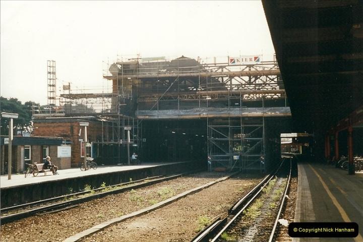 1999-05-29 Bournemouth refurbishment progress. Bournemouth, Dorset.  (5)211