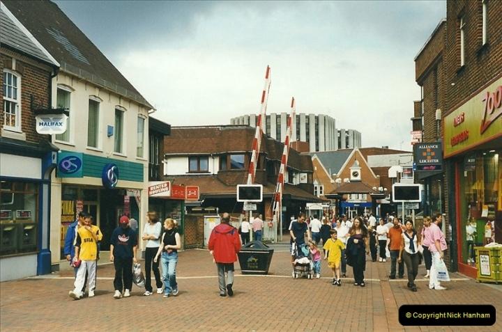 1999-08-08 Poole level crossing, Poole, Dorset.  (1)226