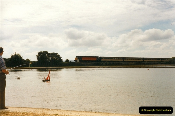 1999-08-22 Radio controlled yacht or Class 47. Poole Park, Poole, Dorset.231