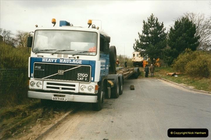 2000-03-16 Bournemouth Depot carriage movement.  (1)260