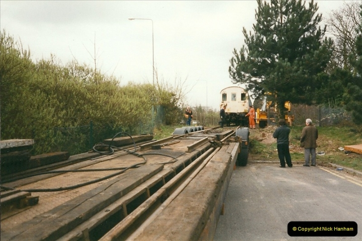 2000-03-16 Bournemouth Depot carriage movement.  (2)261