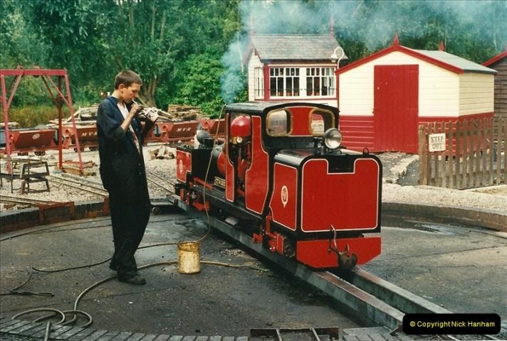 2000-08-22 Moors Valley Railway, Ringwood, Hampshire.  (11)321
