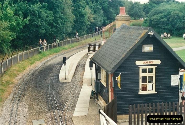 2000-08-22 Moors Valley Railway, Ringwood, Hampshire.  (1)311