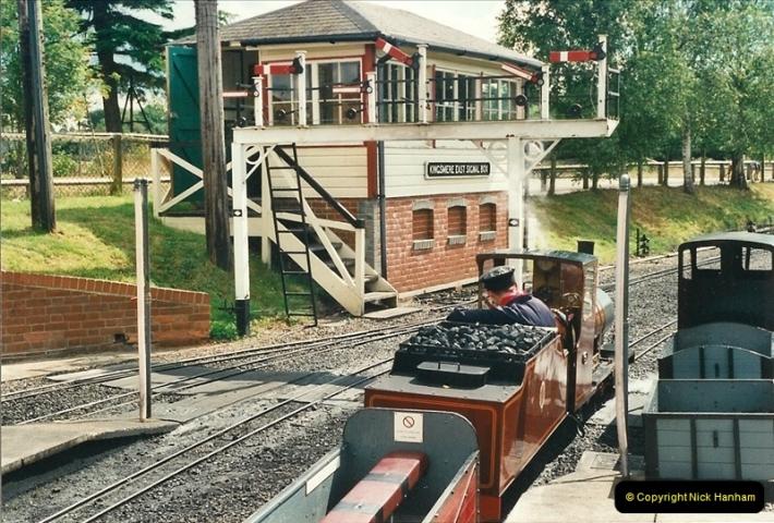 2000-08-22 Moors Valley Railway, Ringwood, Hampshire.  (14)324