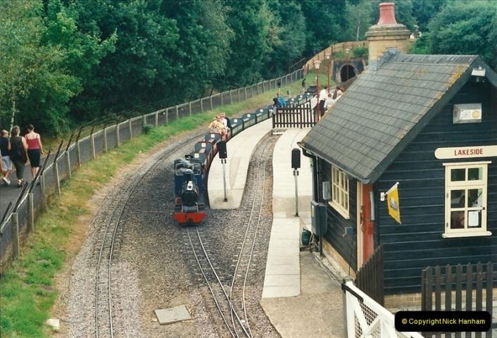 2000-08-22 Moors Valley Railway, Ringwood, Hampshire.  (2)312