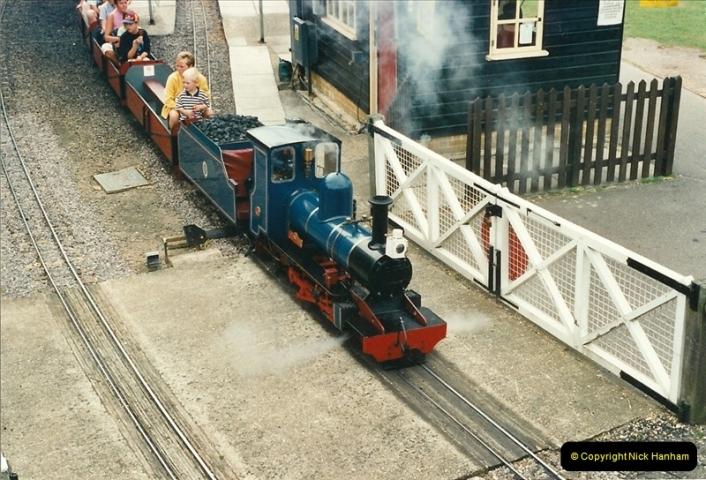 2000-08-22 Moors Valley Railway, Ringwood, Hampshire.  (3)313