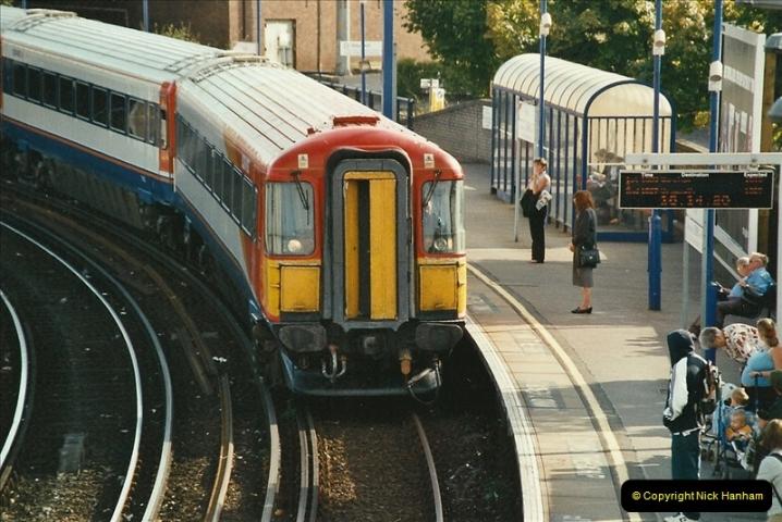 2003-09-15 The New Poole station Poole, Dorset.  (8)521