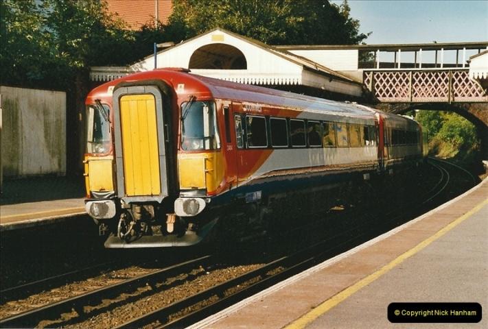 2004-08-14 End of slam door stock in the Poole, Dorset area (1)573