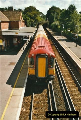 2004-08-14 End of slam door stock in the Poole, Dorset area (37)609