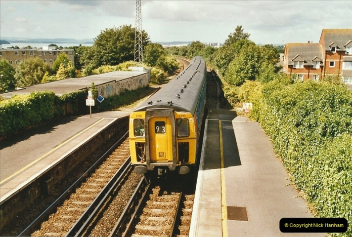2004-08-14 End of slam door stock in the Poole, Dorset area (39)611