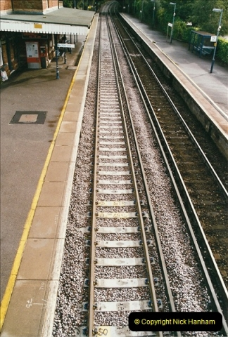 2004-09-12 Renewal of the up line @ Parkstone, Poole, Dorset.  (10)637