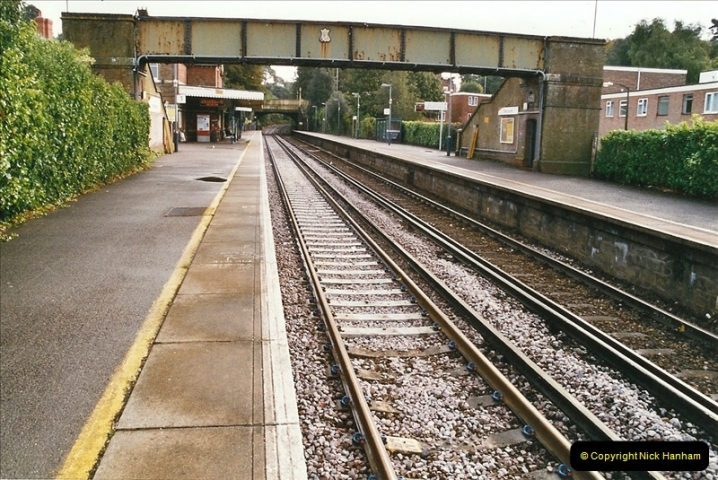 2004-09-12 Renewal of the up line @ Parkstone, Poole, Dorset.  (11)638
